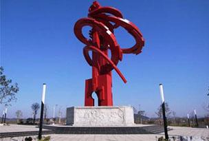 湖北不锈钢雕塑公司